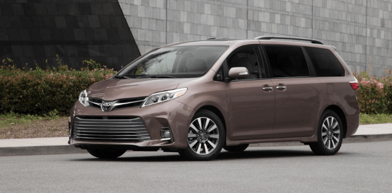97 A 2020 Toyota Sienna Model