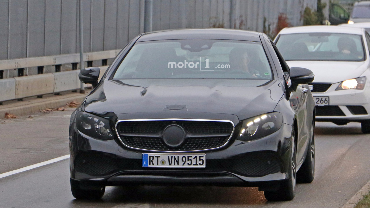 97 A Spy Shots Mercedes E Class Wallpaper