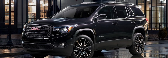 97 All New 2020 GMC Acadia Configurations