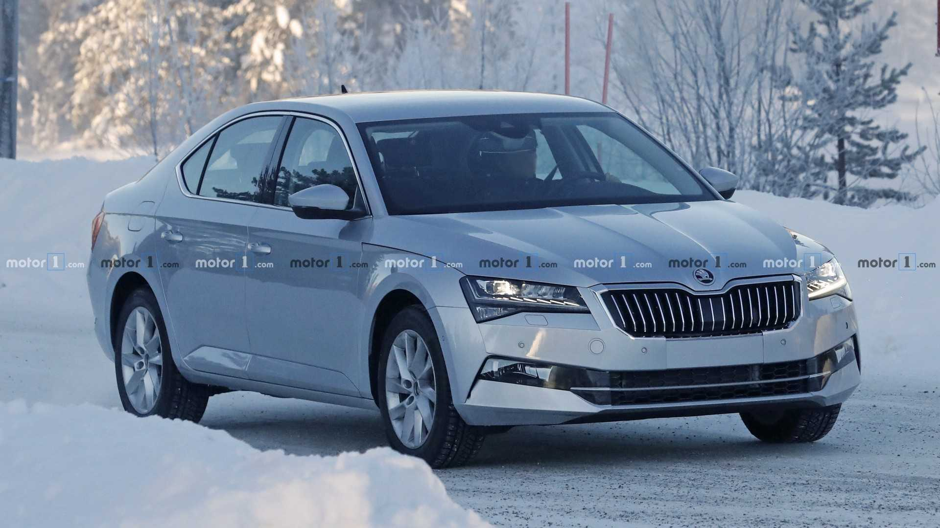 97 Best Spy Shots Skoda Superb Model