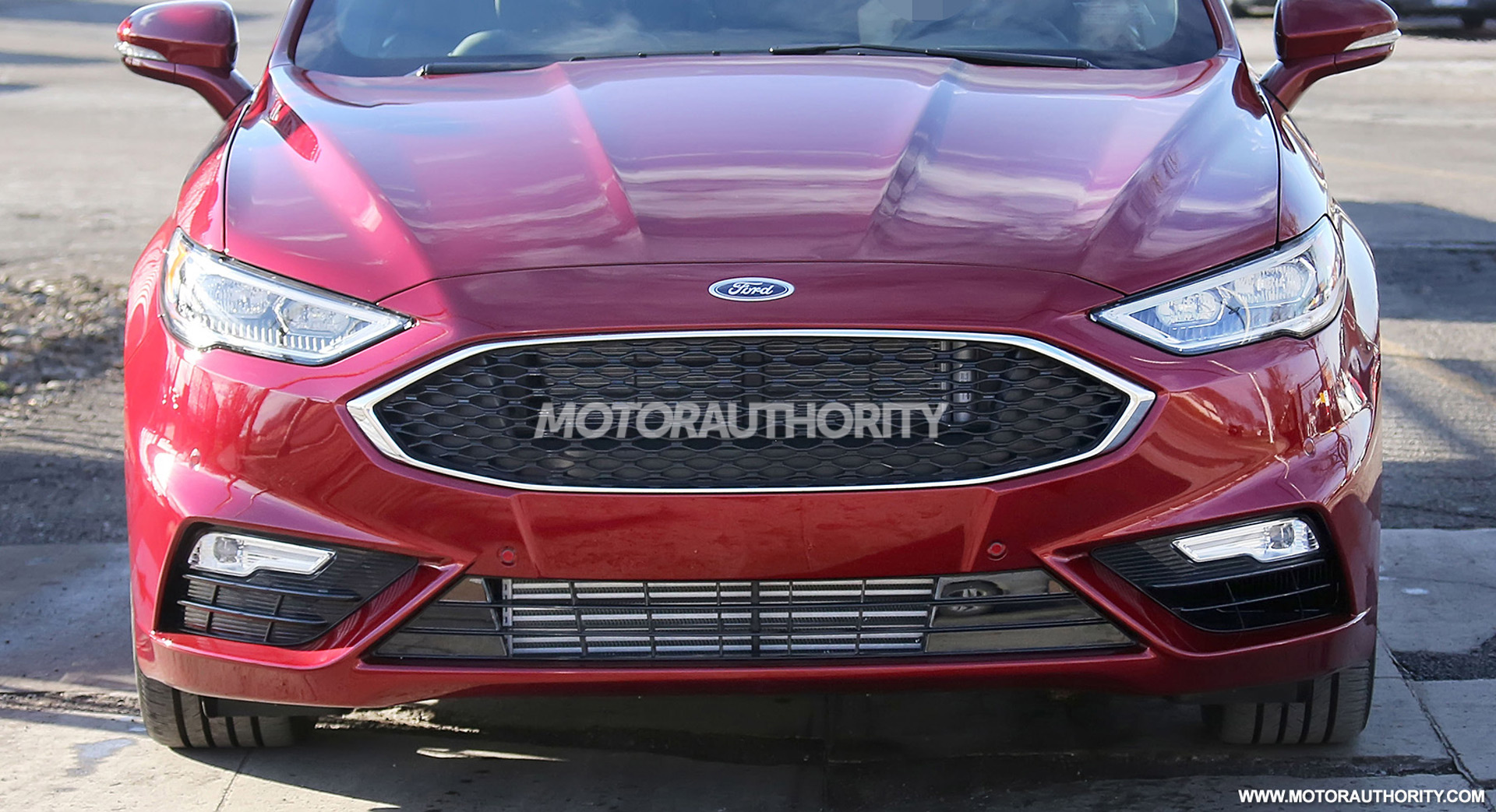 97 New Spy Shots Ford Fusion First Drive