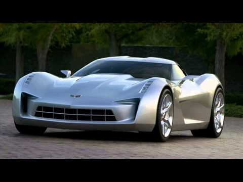 98 A 2020 Corvette Stingray Model