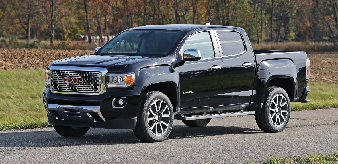 98 A 2020 GMC Canyon Denali Research New