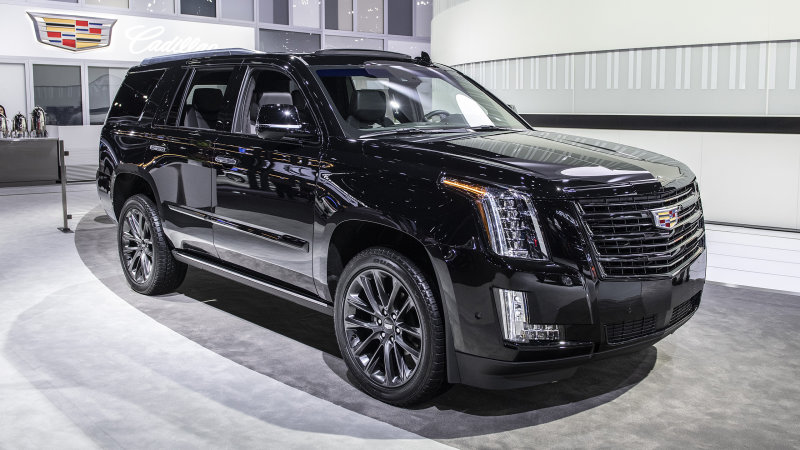 98 The 2019 Cadillac Escalade Vsport Pictures