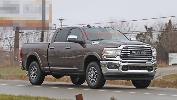 98 The 2020 Dodge Ram 2500 Interior