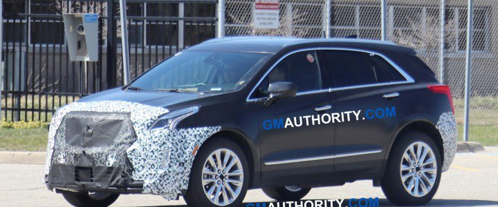 98 The 2020 Spy Shots Cadillac Xt5 History