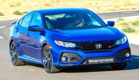 99 A 2020 Honda Civic Si Sedan Pictures