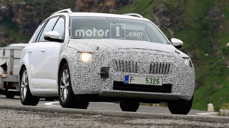 99 A 2020 The Spy Shots Skoda Superb Wallpaper