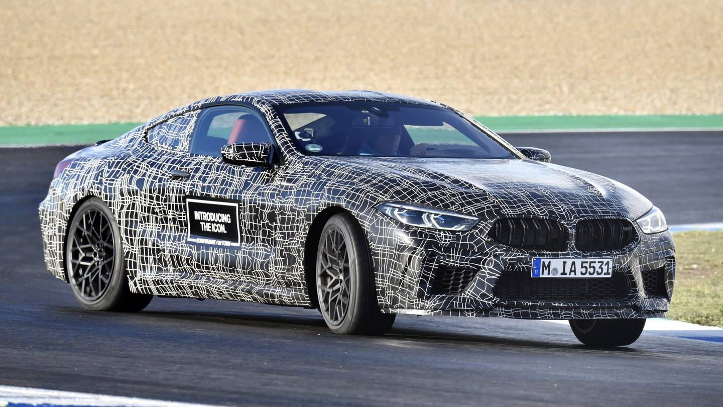 99 All New 2019 BMW M8 Engine