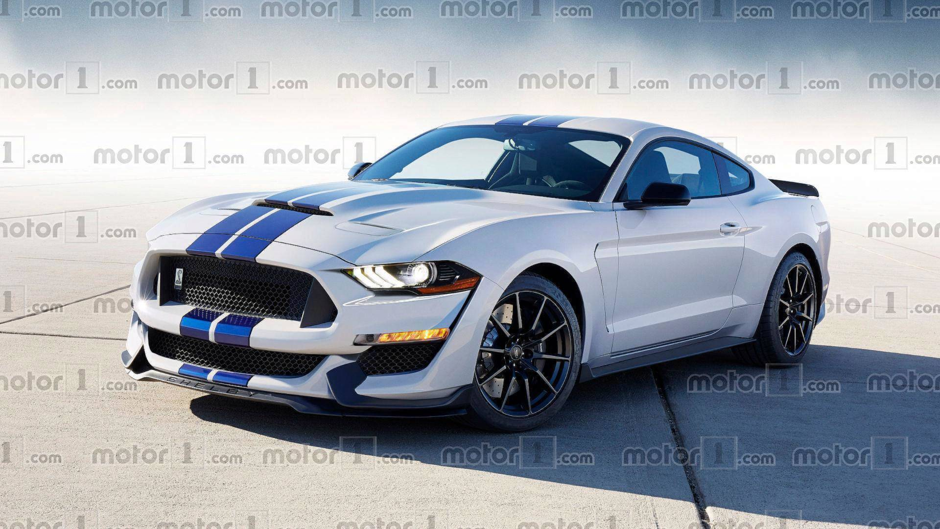 99 All New 2020 The Spy Shots Ford Mustang Svt Gt 500 New Review