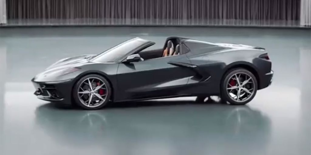 12 A 2020 Chevy Corvette Stingray Interior