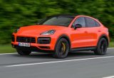 53 A 2020 Porsche Cayenne Coupe Spy Shoot