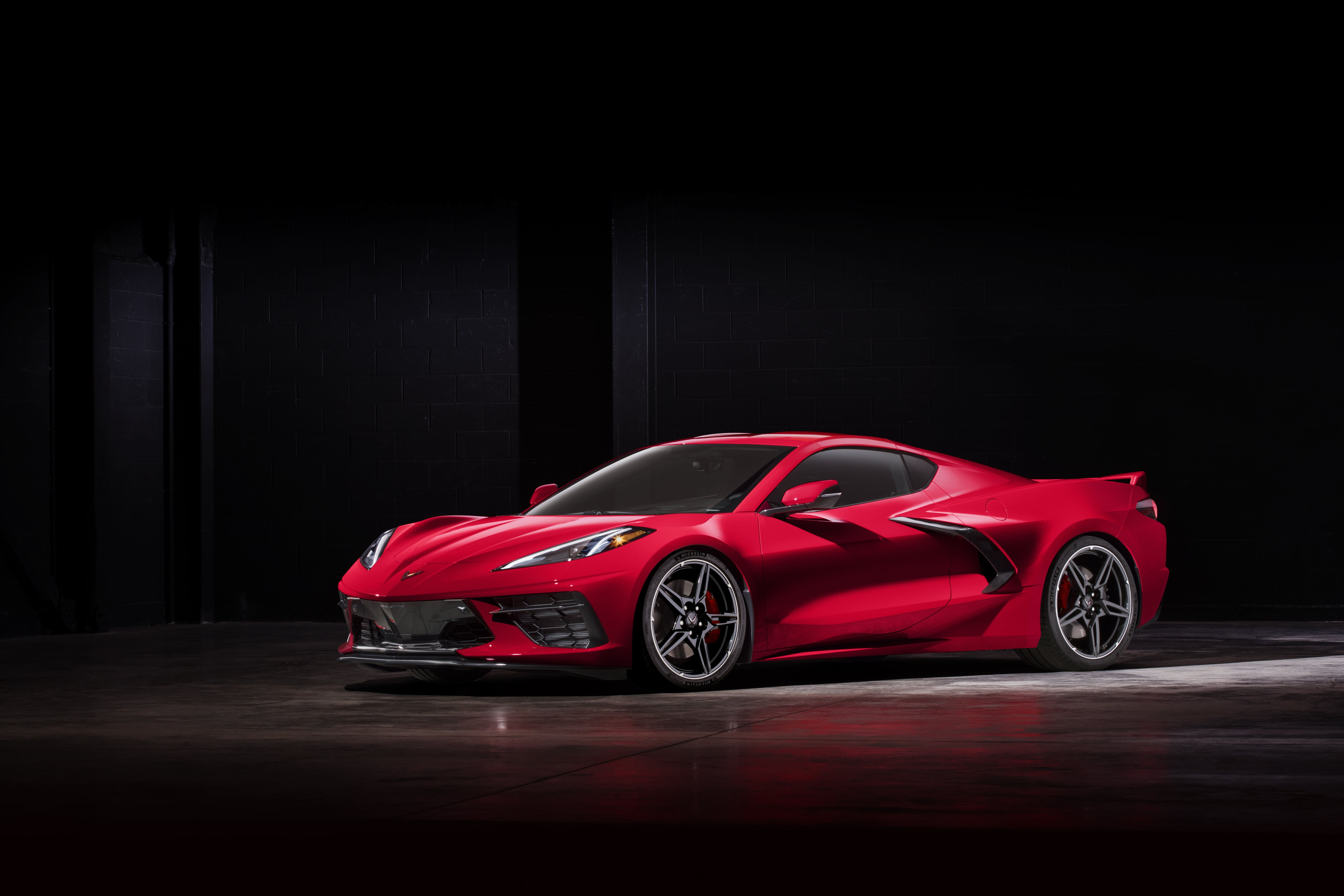 74 A 2020 Chevrolet Corvette C8 Wallpaper
