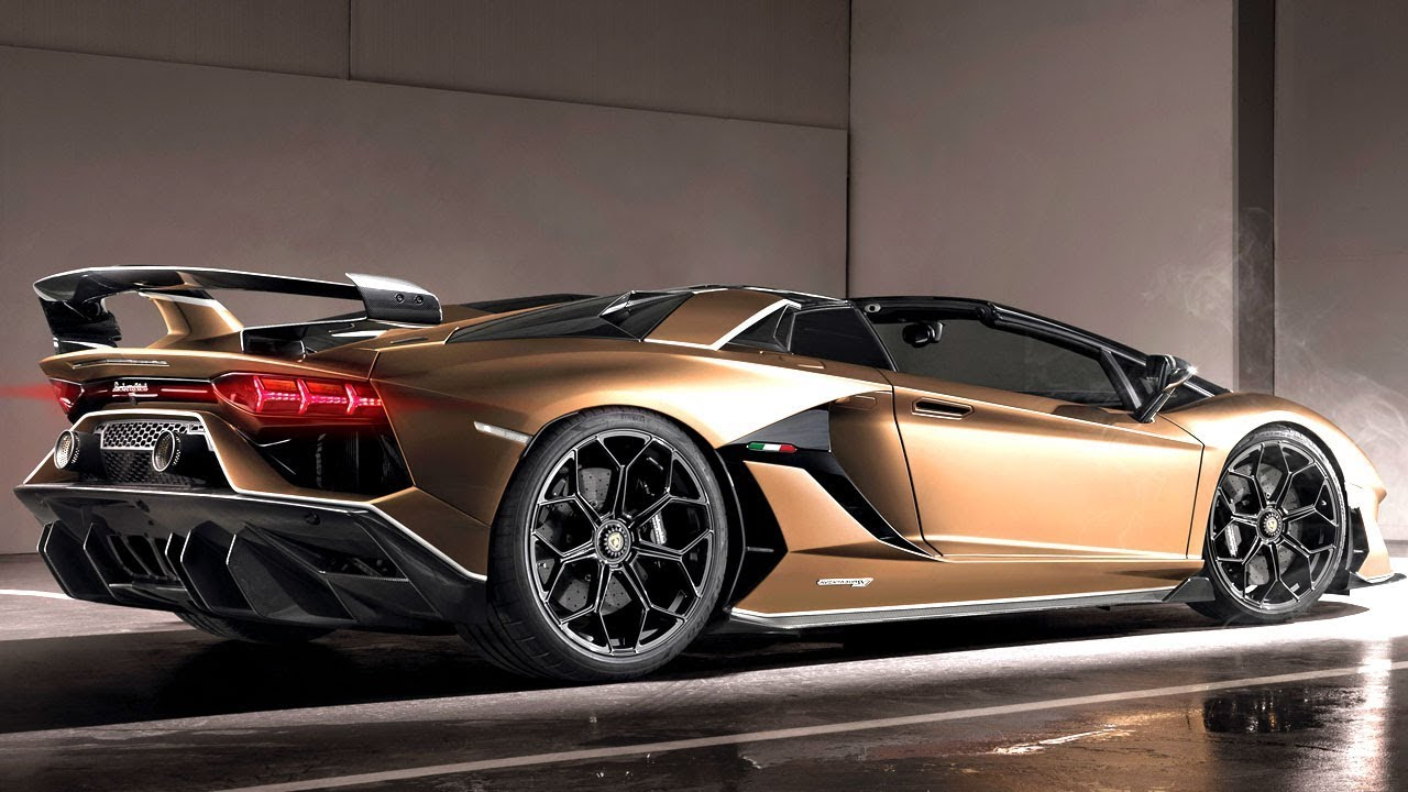 34 All New 2020 Lamborghini Aventador SVJ Performance
