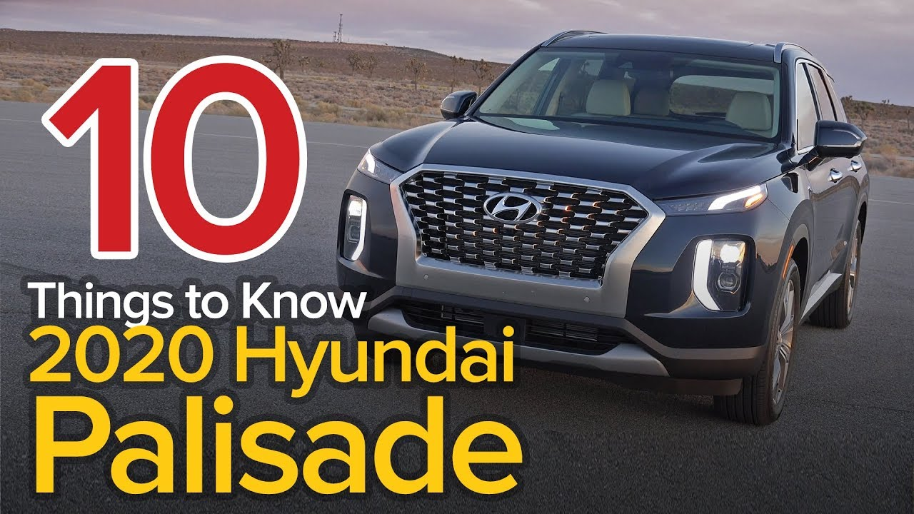 57 Best 2020 Hyundai Palisade Review Concept and Review