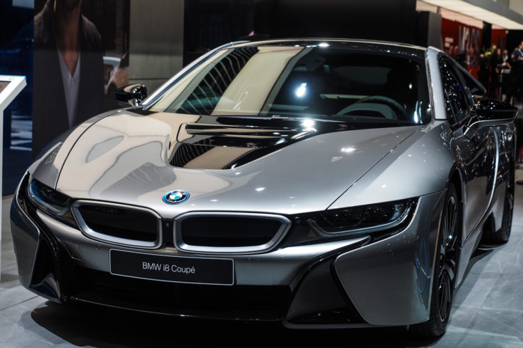 58 A 2020 BMW I8 Coupe Ratings