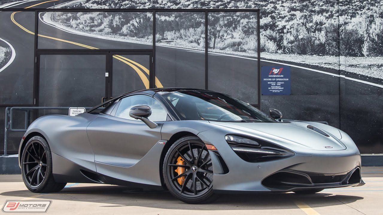63 A 2020 Mclaren 720s Spider Performance