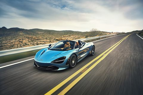 98 The 2020 Mclaren 720s Spider Ratings