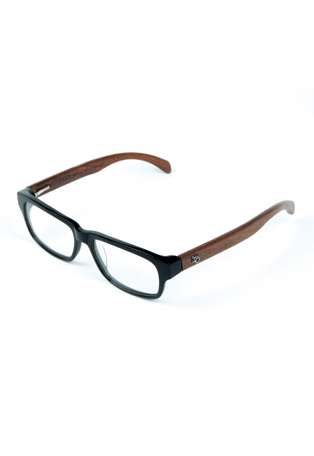 Armação para Óculos de Grau Zabô Joanesburgo Preto