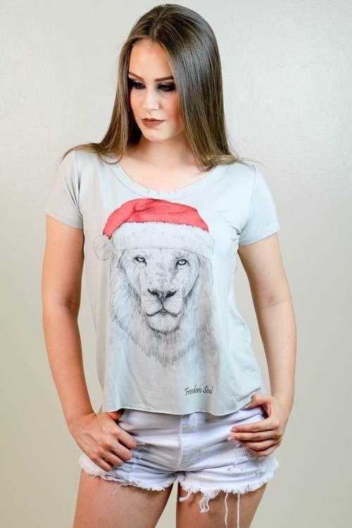 Blusa Santa Lion (Freedom Soul)