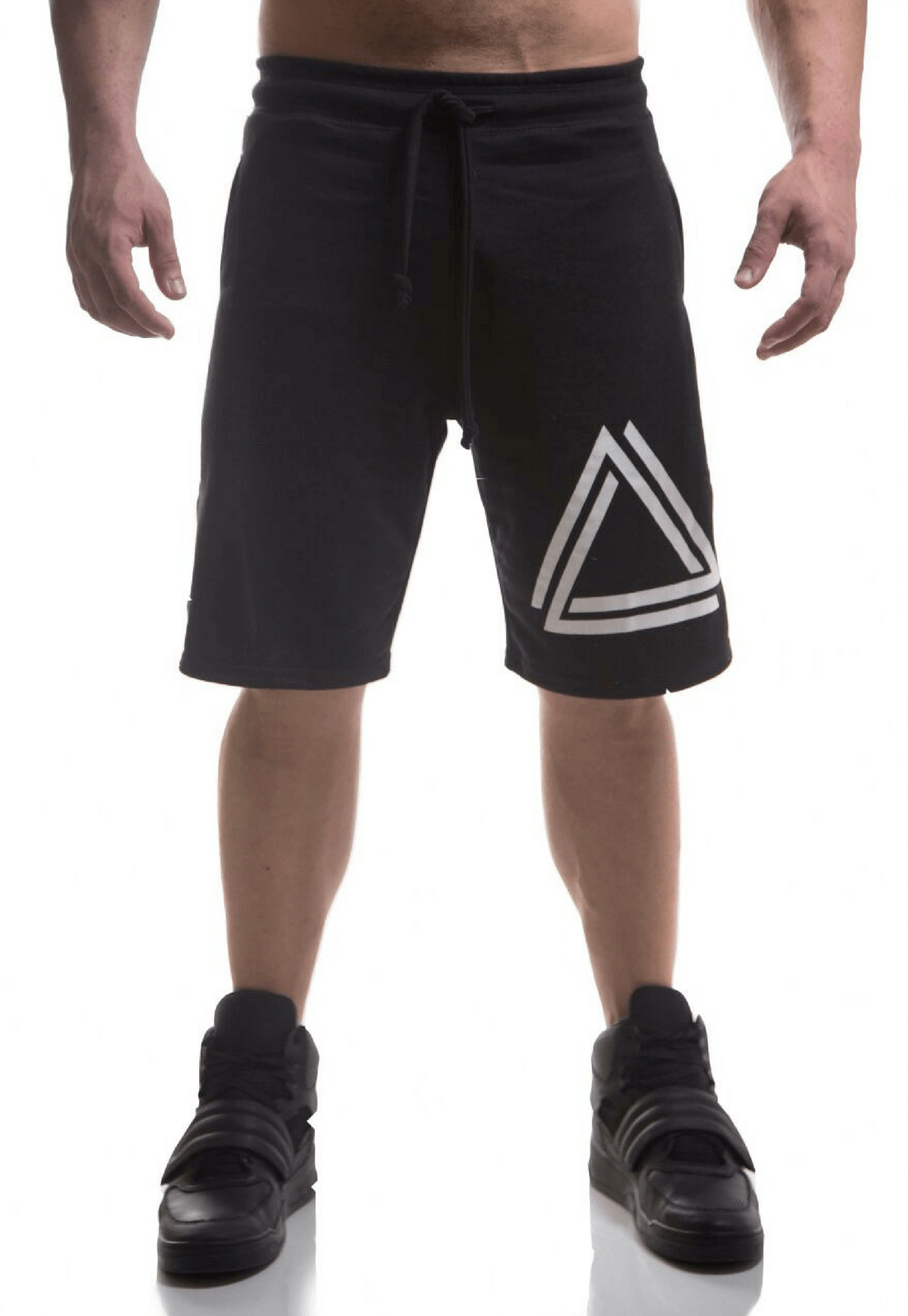 Bermuda Top Fit Triangle Preta