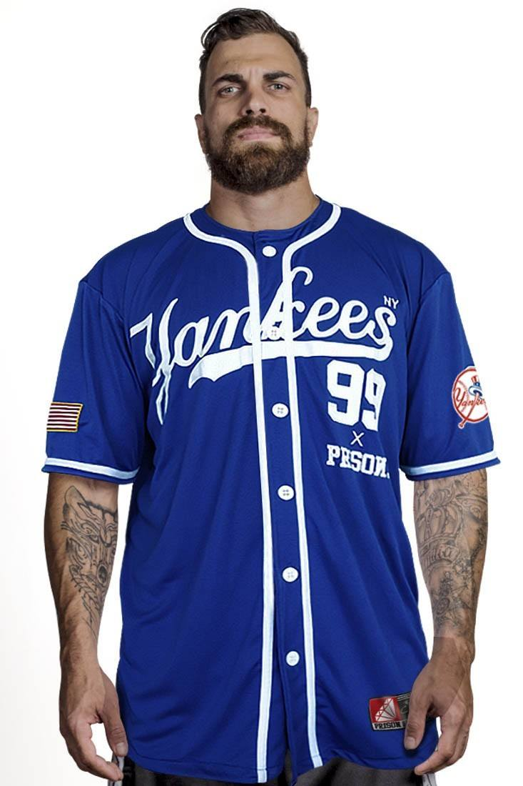 Camisa de Baseball Yankees Azul
