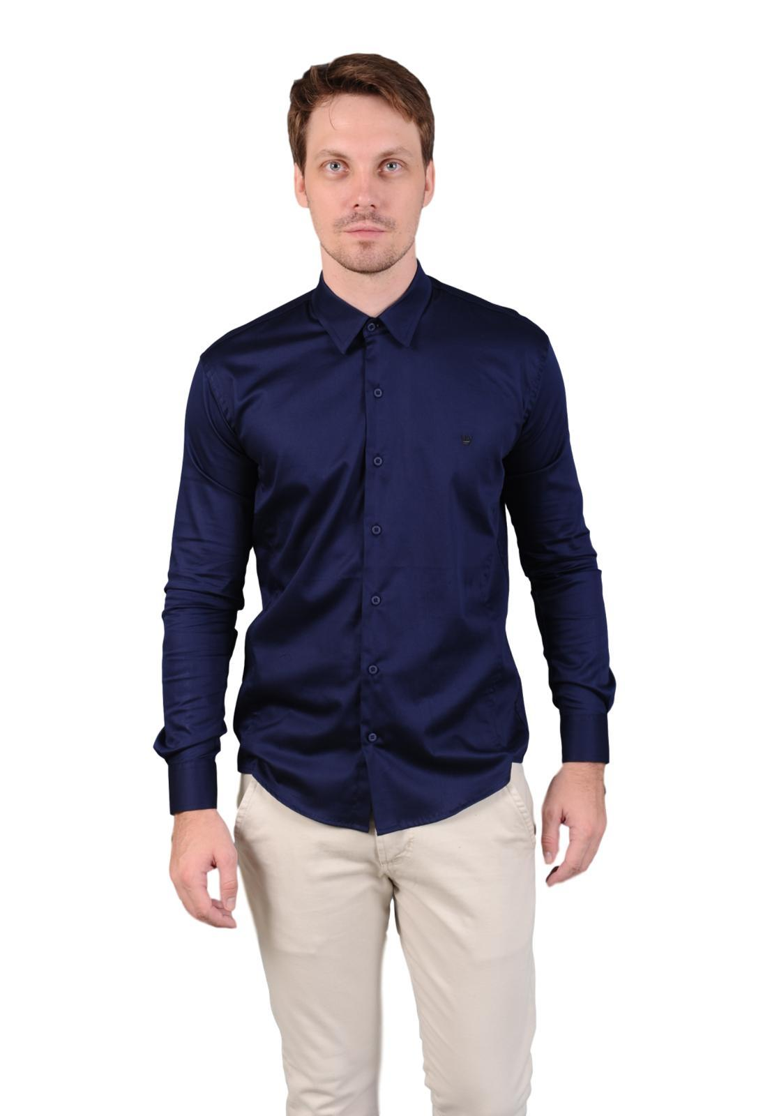 Camisa Off Wear Social Slim