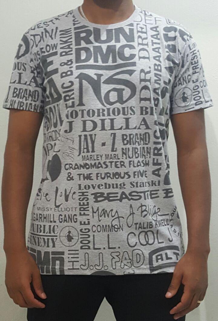Camiseta Akanni Exclusive Rappers Mescla (Lançamento)