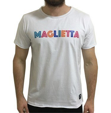 Camiseta Color Branca Maglietta