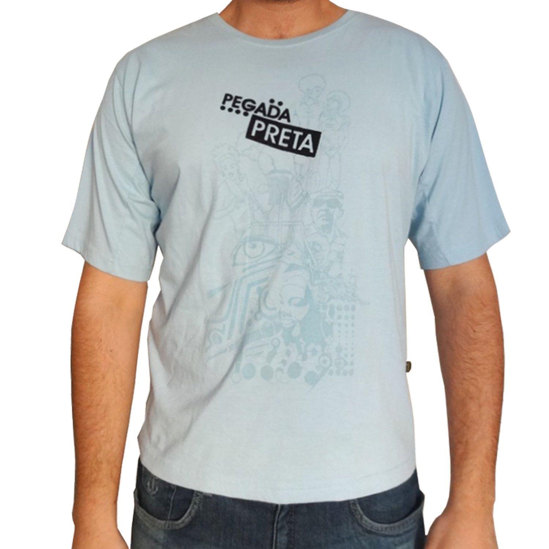 Camiseta Pegada Preta Bezerra no Morro