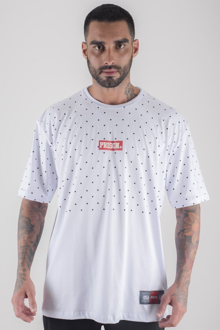 Camiseta Prison Ball Light Branca