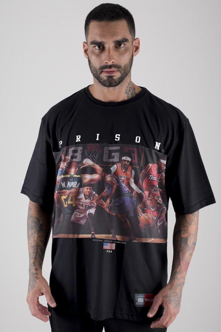 Camiseta Prison Originals Champions Preta