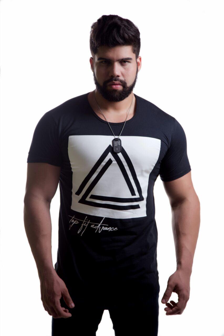 Camiseta Top Fit Gangstar Preta