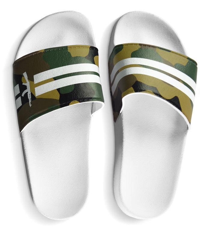 Chinelo Slide Stripes Camo - DLQT