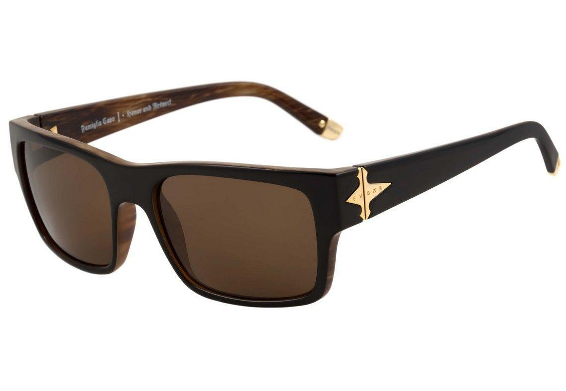 Evoke Capo I - Óculos de Sol - Black Wood/Brown