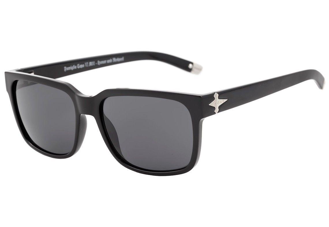 Evoke Capo VI - Óculos de Sol - Black Shine/Gray