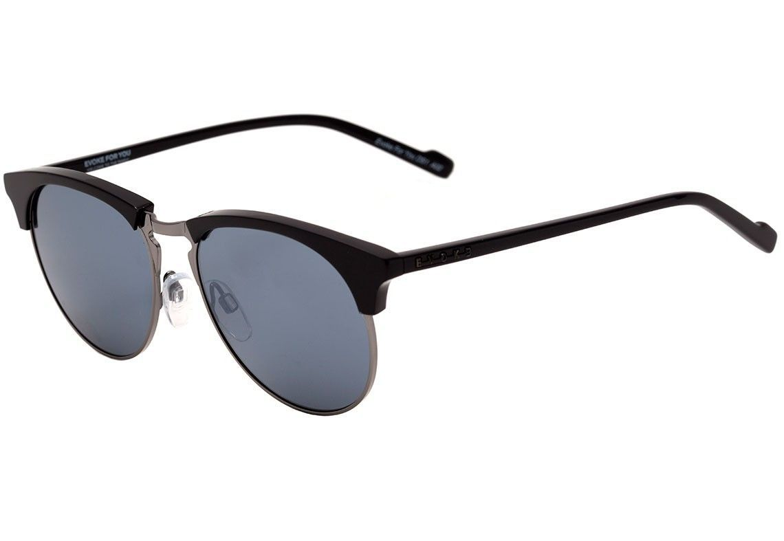 Evoke DS1 - Óculos de Sol - Black Shine Gray/Gray
