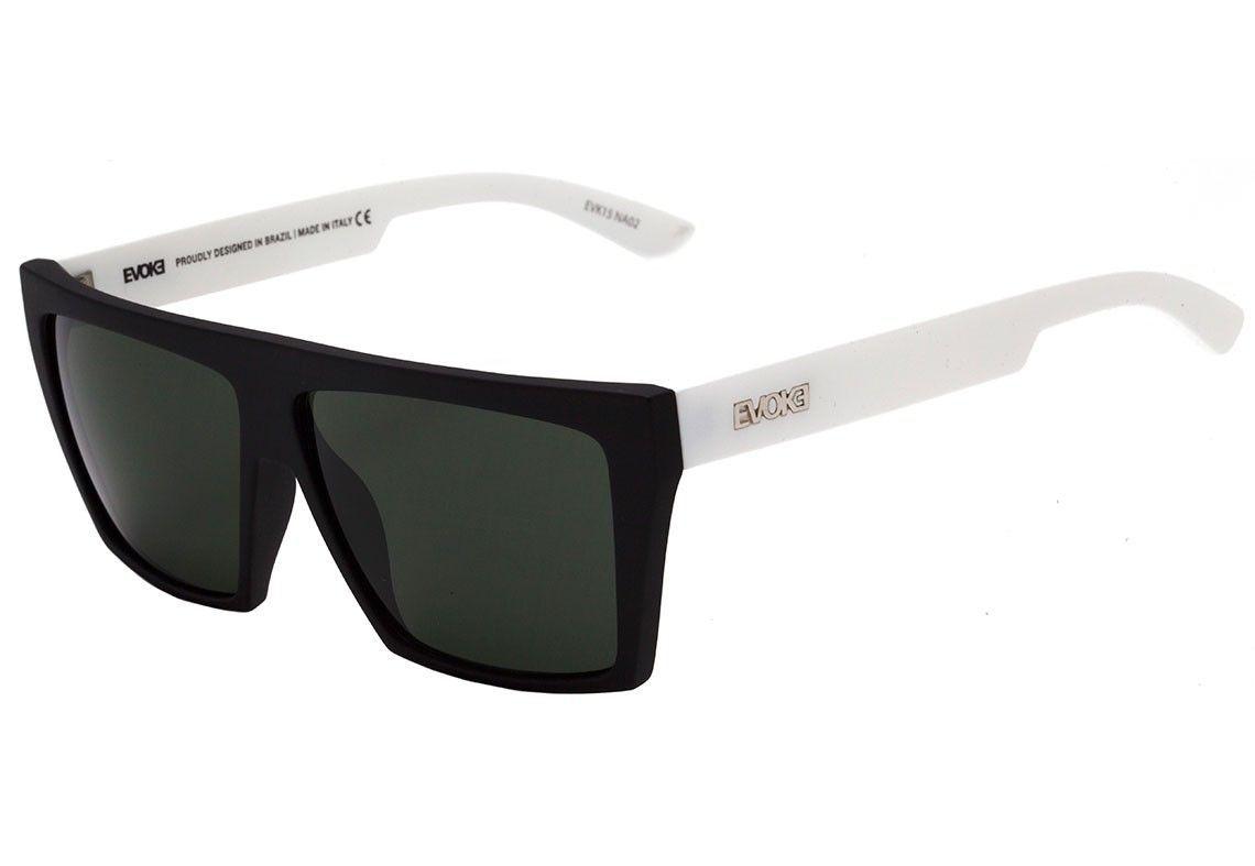 Evoke EVK 15 - Óculos de Sol - White/Black