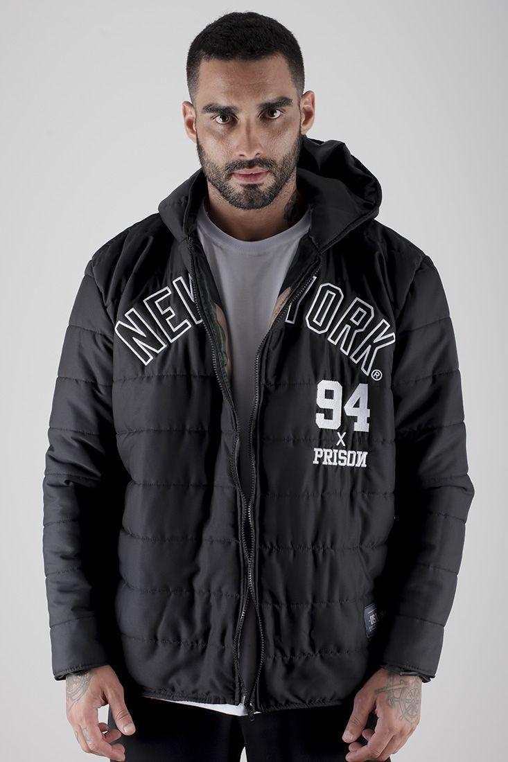 Jaqueta Bomber New York x Prison