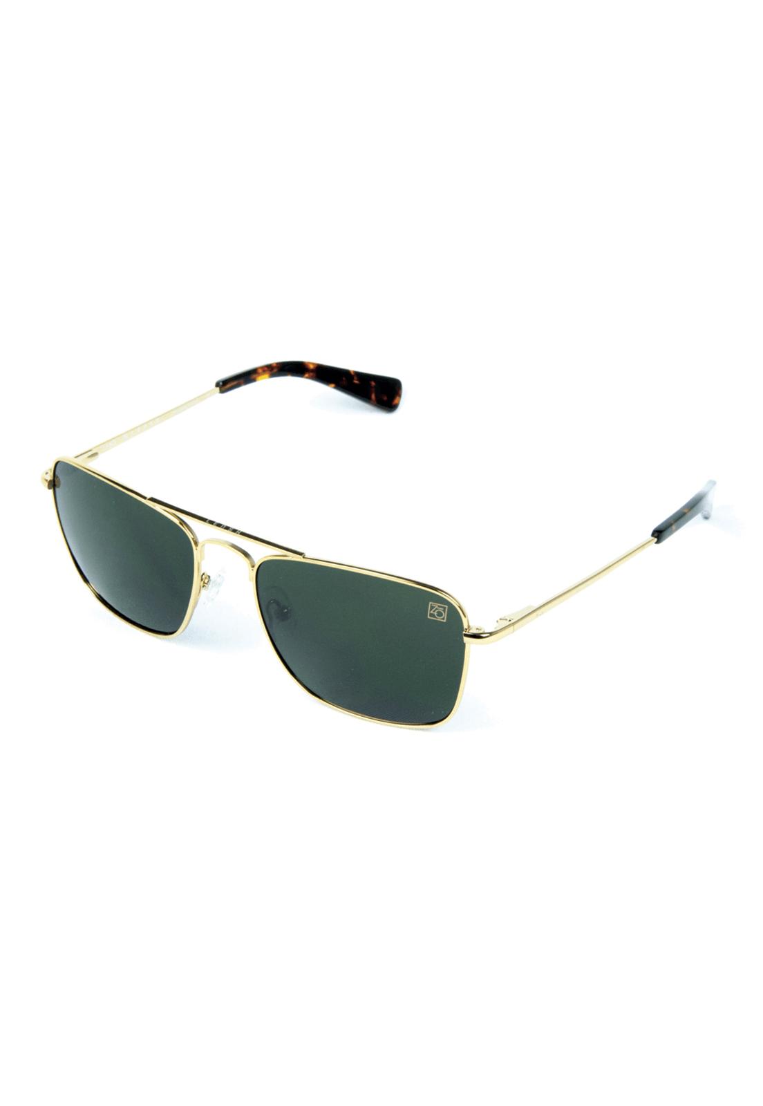 711955cb0 Óculos de Sol Polarizado Banhado a Ouro Zabô Lensk lente Green