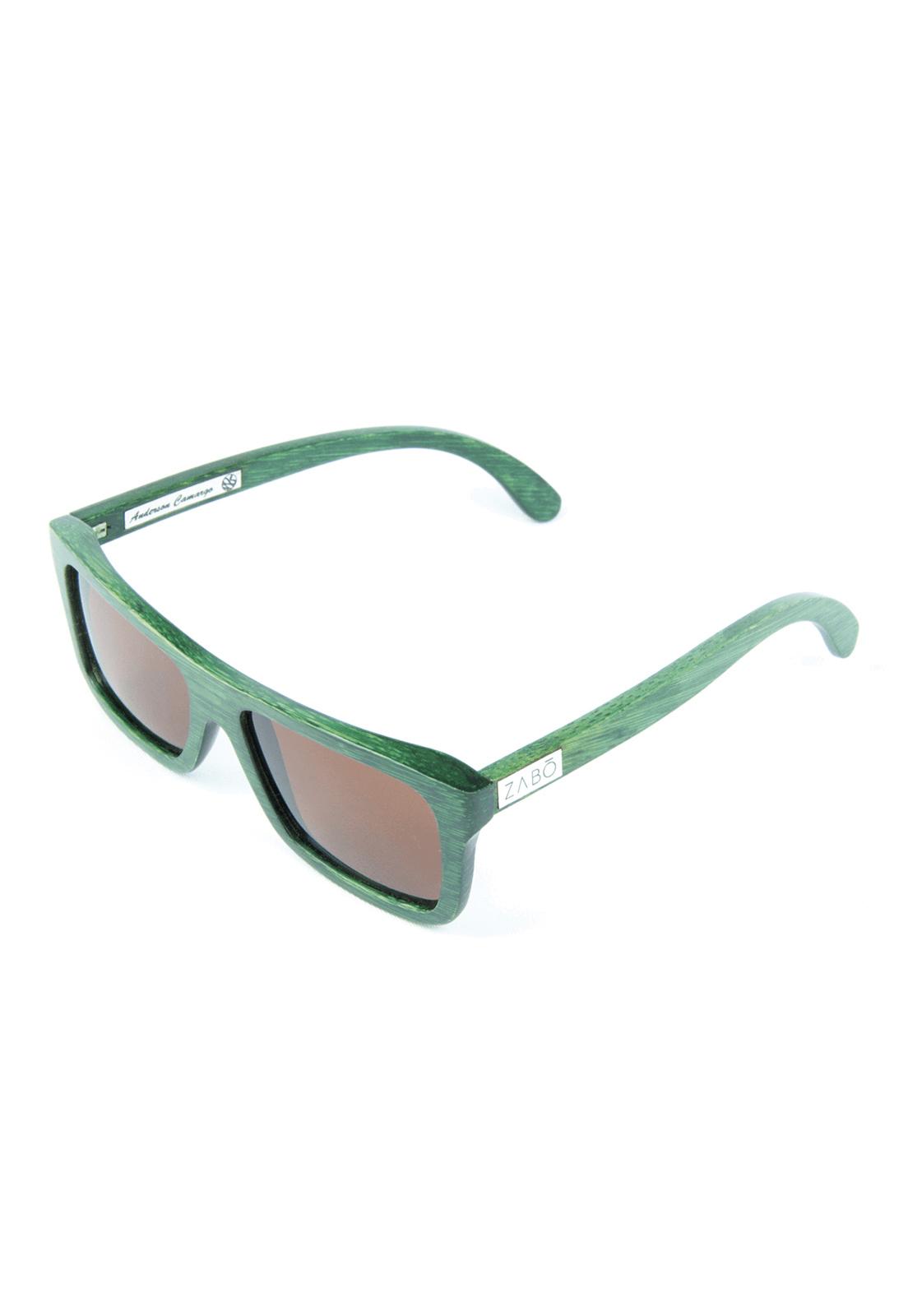Óculos de Sol Polarizado em Madeira Bambu Pro Model Anderson Camargo II