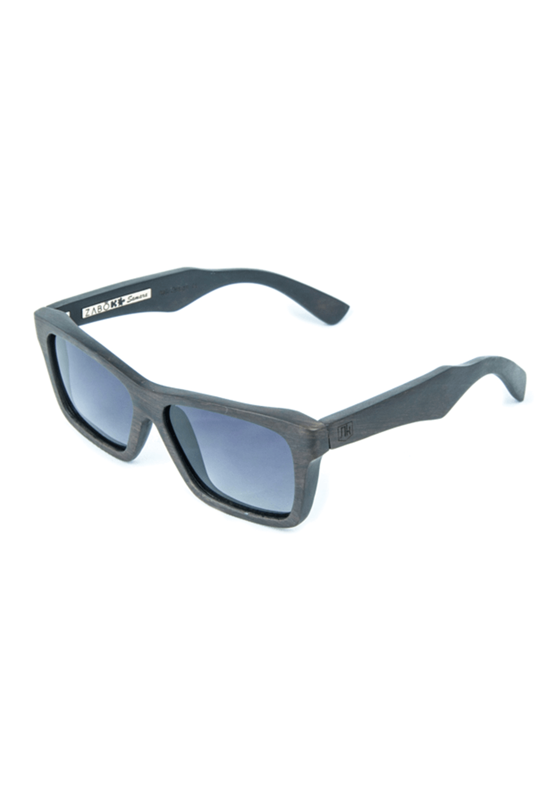 Óculos de Sol Polarizado em Madeira Ébano Zabô Samara
