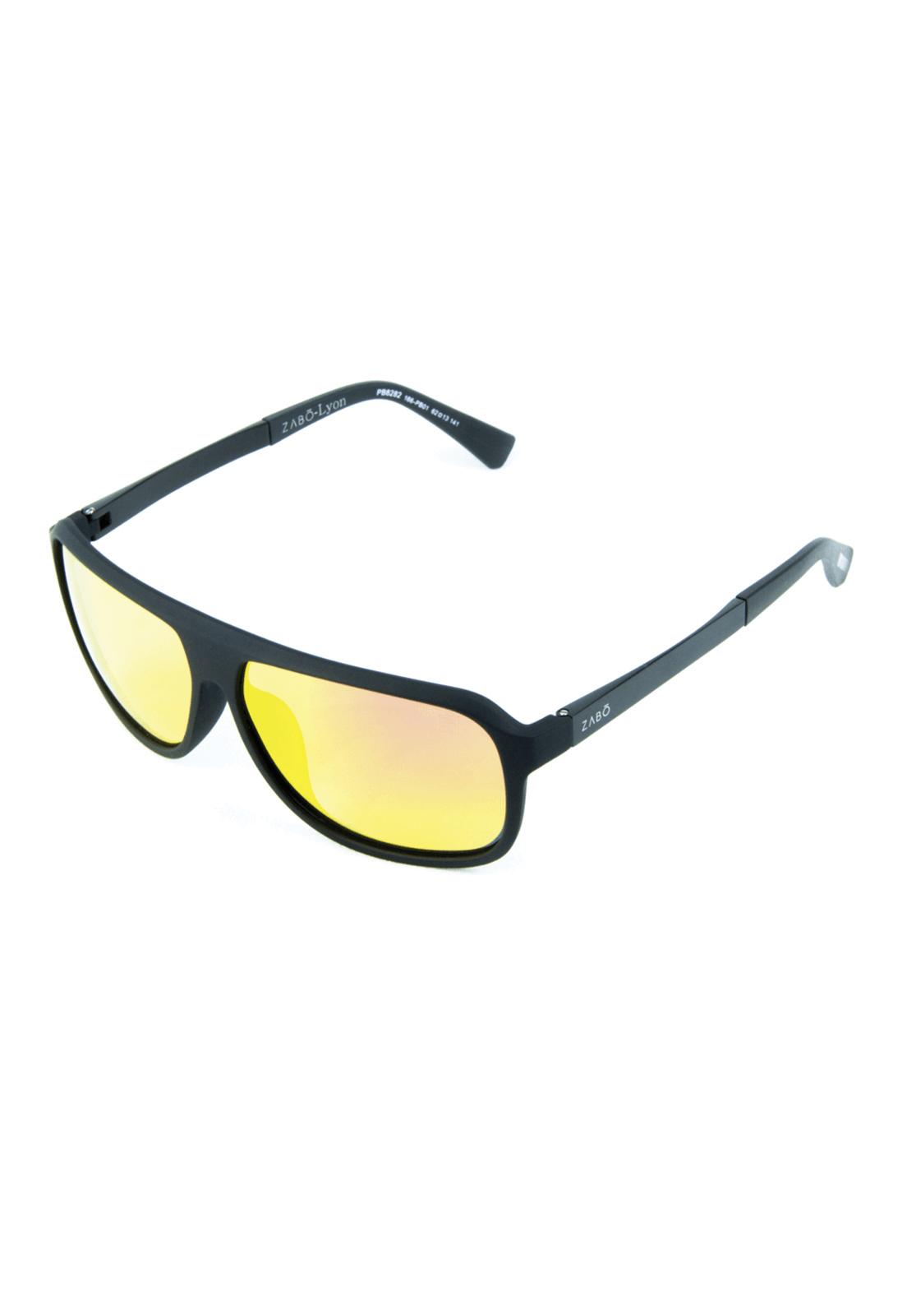 Óculos de Sol Polarizado Espellhado Zabô Lyon Lente Fire