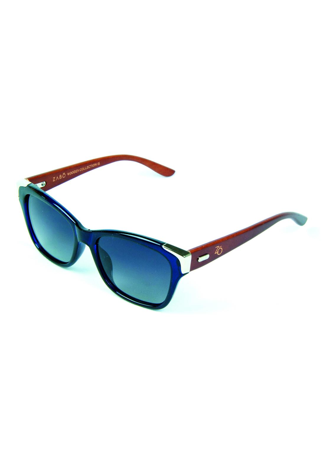 Óculos de Sol Polarizado Zabô Barcelona Azul Lente Black