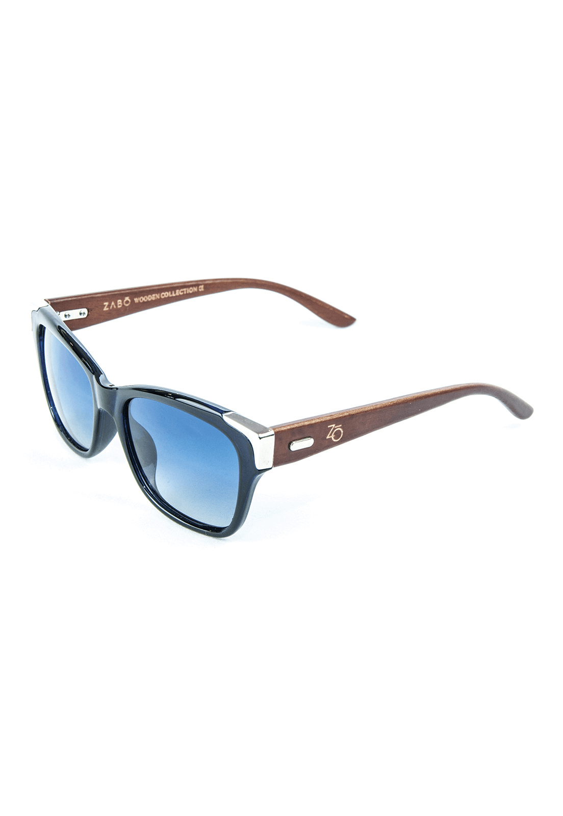 Óculos de Sol Polarizado Zabô Barcelona Azul Lente Blue