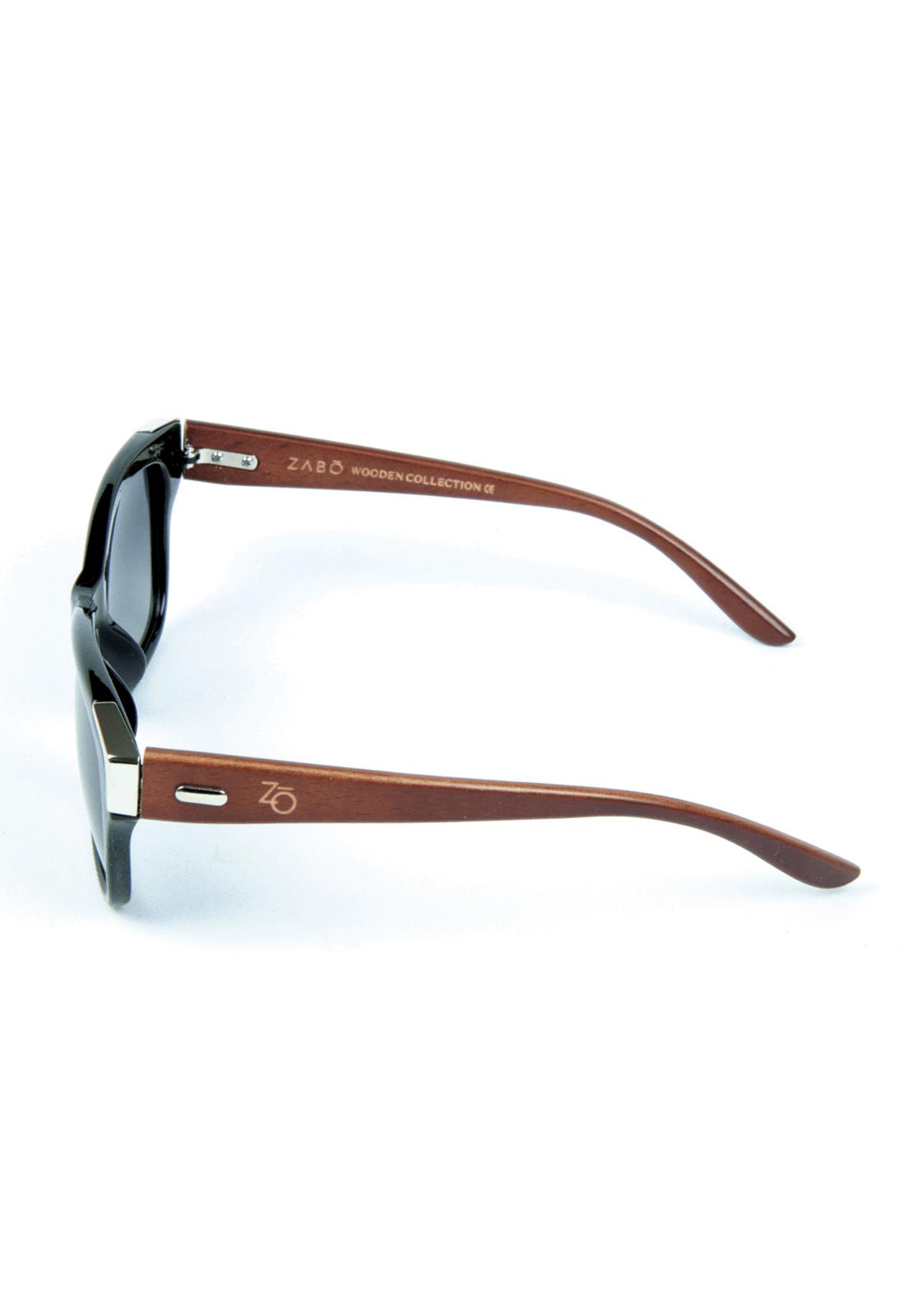 9d91dbb14 Óculos de Sol Polarizado Zabô Barcelona Preto Lentes Black