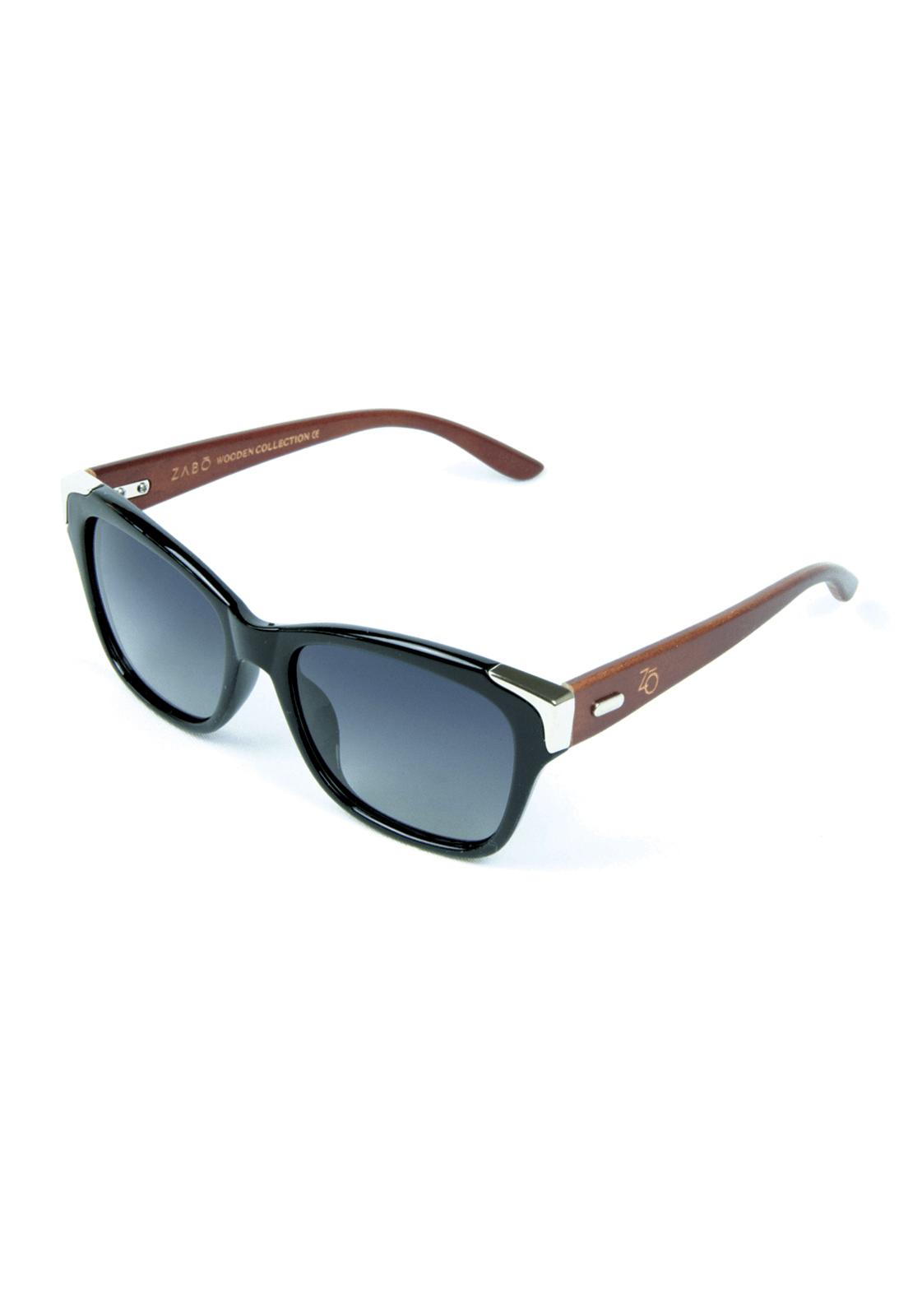 f7d643af1 Óculos de Sol Polarizado Zabô Barcelona Preto Lentes Black