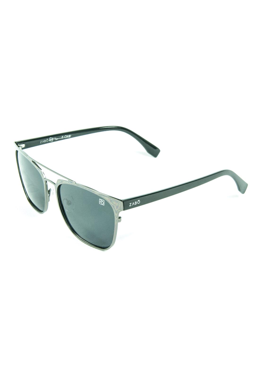 Óculos de Sol Polarizado Zabô Pro Model Crazy Series II Prata