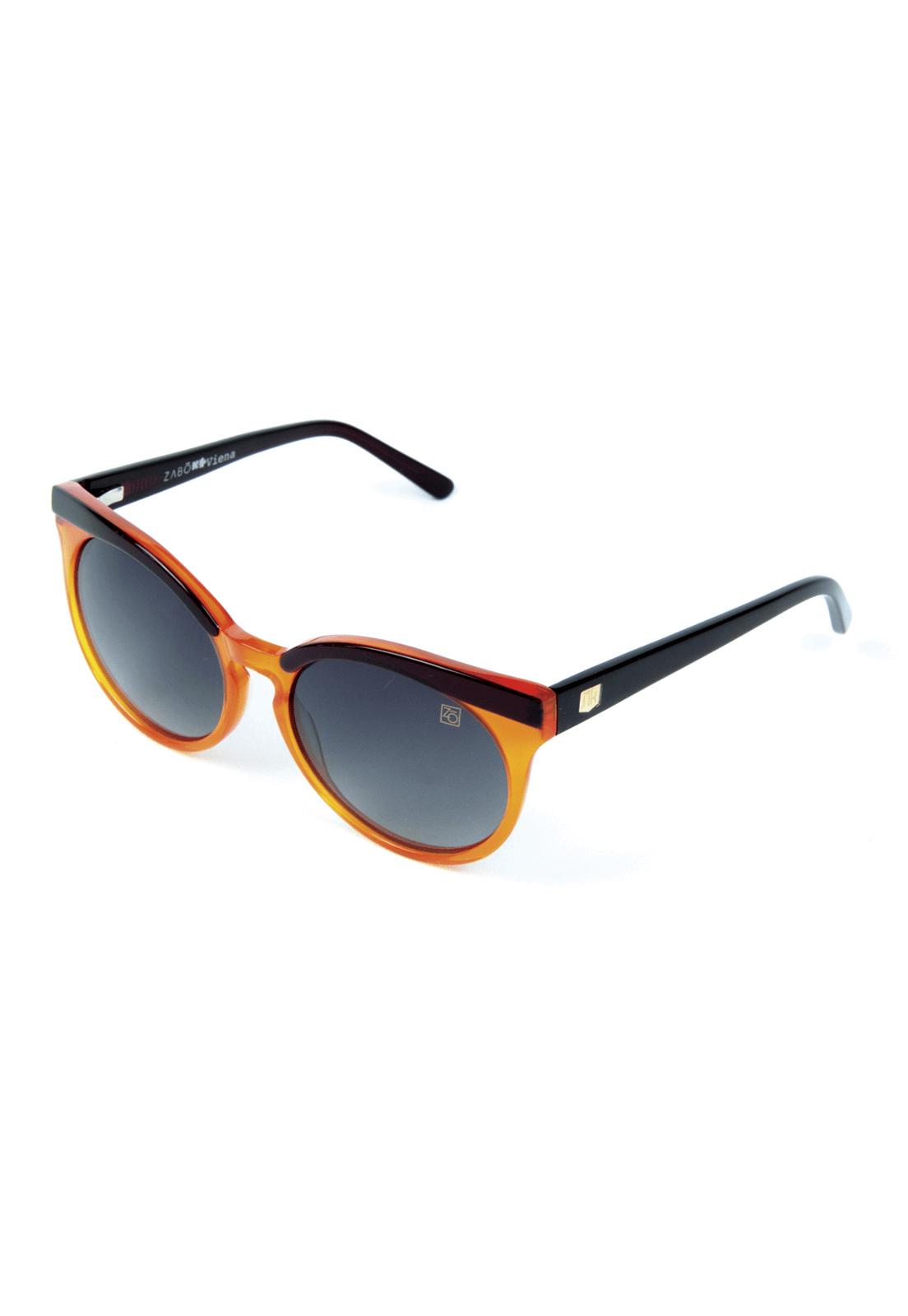 Óculos de Sol Polarizado Zabô Viena Marrom Lente Black