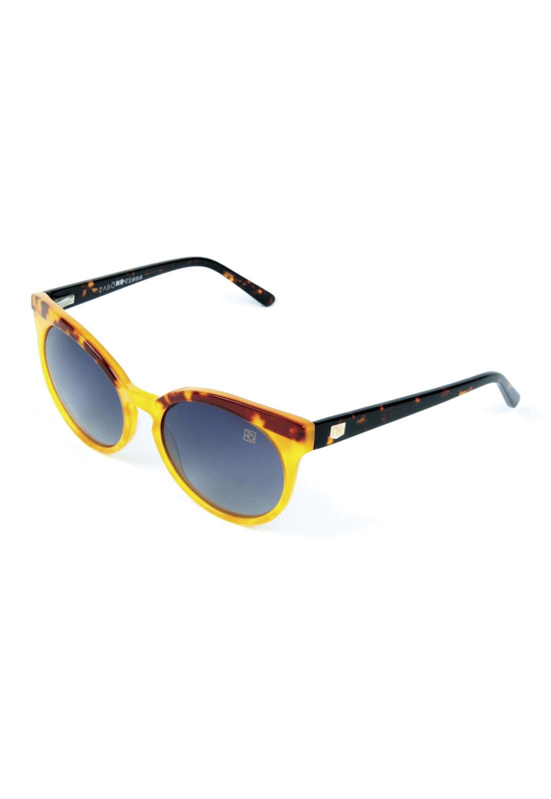 Óculos de Sol Polarizado Zabô Viena Tartaruga Lente Black